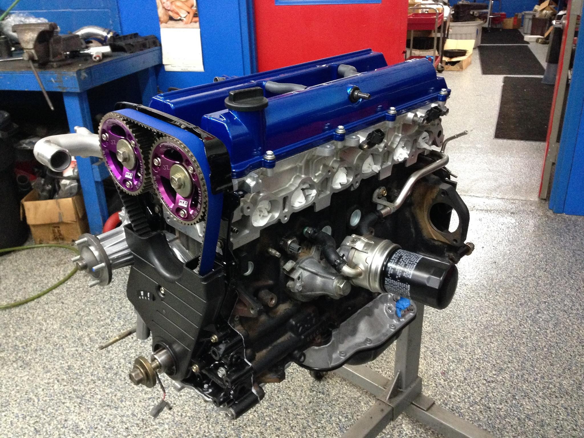 VTR Stage 1 2JZGTE Complete Engine