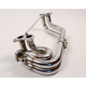 Agency Power Stainless Steel Header WRX / STi 02-13