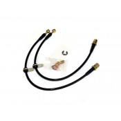 Agency Power Rear Brake Lines Subaru WRX / STi