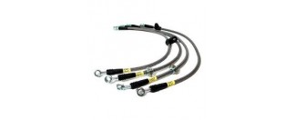 350z / G35 S.S. Brake Line Kit - Rear